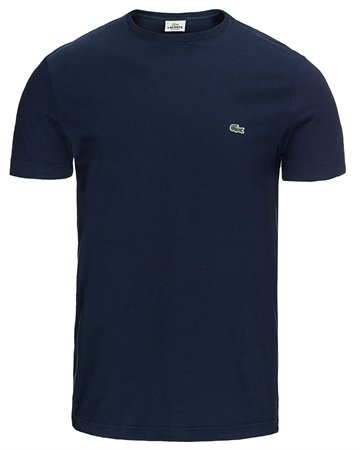 LACOSTE T-shirt marine Classic